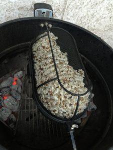 Popcorn vom Kugelgrill